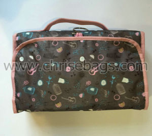 PVC & Polyester Cosmetic Bag for Women pictures & photos