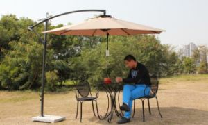 Solar Umbrella Charger and Light Kit for All Existing Umbrellas