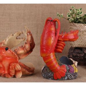 Creative Resin Wine Bracket Crab Lobster Resin Craftwork Desktop Decoration pictures & photos