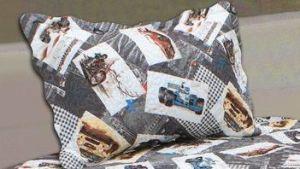 Printed Quilt Pigment Printing Children Bedding Set pictures & photos