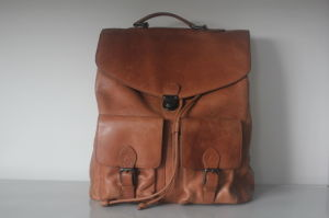British Wind Genuine Leather Backpack (HD-7003)