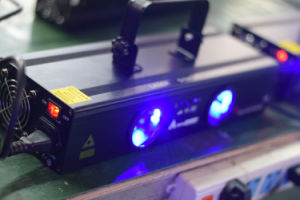 Guangzhou China Hot Selling Laser Light Double Head Blue DJ Laser Light pictures & photos