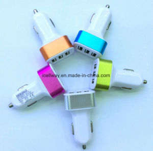 Factory Sale Multi 3 Ports 5V 3A USB Power Adapter for iPhone5 5s 5c 6s Plus pictures & photos