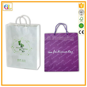 OEM Luxry Paper Bag in Full Color Printing and Gold Stamping pictures & photos