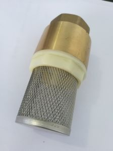 """1"""" Professional High Technology Top Quality Check Valve 1 Inch Brass Foot Valve Filter pictures & photos"""
