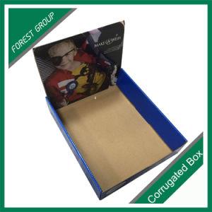 Custom Logo Printed Corrugated Cardboard Display Box pictures & photos
