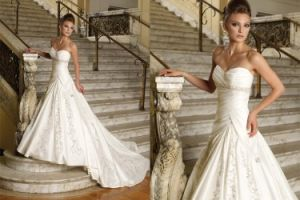 Wedding Dress&Evening Dress&Wedding Gown (DX0024)