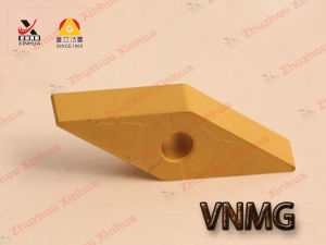 Vnmg Indexable Cutting Tools Tungsten Carbide Turning Inserts pictures & photos