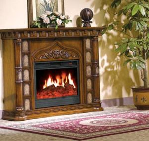 Electric Fireplace/European Style Fireplace (609) pictures & photos
