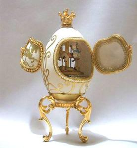 Goose Egg Music Box/Jewelry Box(YJ022M)