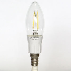 Dimmable 3W 300lm C35 Filament LED Bulb pictures & photos