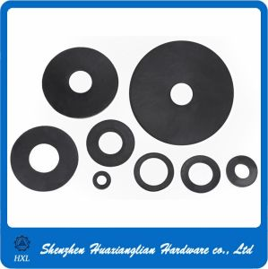 Plastic Fasteners Nylon Plastic Black Flat Washer (M2-M36) pictures & photos