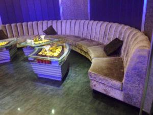 Restaurant KTV Circular Booth Seating (KTV125) pictures & photos