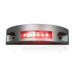 Aluminum Semicircle Red LED Flashing Light Solar Road Stud pictures & photos