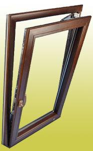 Aluminium Cladded Wooden Window