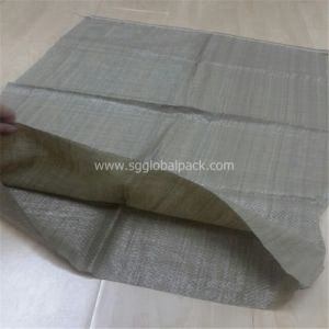 Dark Green Garbage Polypropylene Woven Bags 50kg pictures & photos