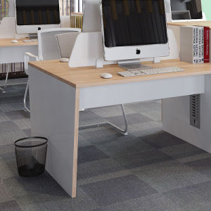 Office Furniture Office Desk Workstation for Two Person with Cabinet pictures & photos