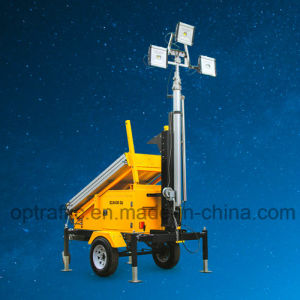 Cost Effective Silent Long Lasting Portable Solar Light Tower pictures & photos