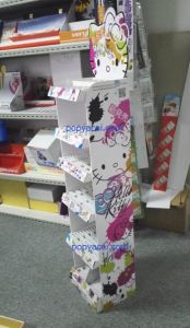 Cosmetic Cardboard Display Stand, Skincare Display Stand pictures & photos