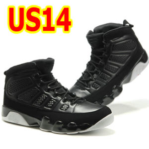 Big Size Man Shoes Extra Large Size Sneaker Us14 Us15 Us16 Euro 48 49 50 Black White Aj11 Aj3 Aj4 Aj9 Leather Footwear