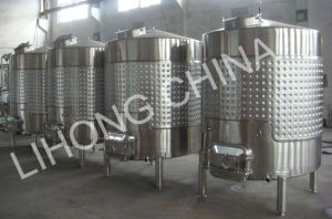 Stainless Steel Tank for Grape Wine Production pictures & photos