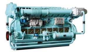 330kw Low Power Marine Diesel Engine for Container Ships