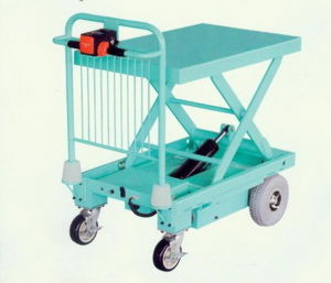 Electric Move Scissor Lift Platform pictures & photos