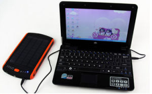 Portable Multifunction 23000mAh Solar Charger for Laptop