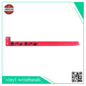 RFID Vinyl Bracelet with Silk-Screen Printing pictures & photos