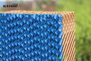 Evaporative Cooling Pad - Bule Coated Colour pictures & photos
