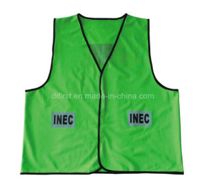 High Visibility Reflective Safety Vest (Meeting EN ISO 20471) pictures & photos
