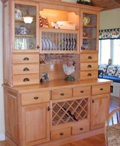 Walnut Solid Wood Kitchen Cabinets with Kitchen Sinks and Countertops pictures & photos