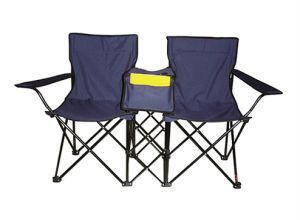 Double Folding Chair with Cooler Bag (MW11008) pictures & photos