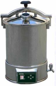 JY3004 Series Portable Stainless Steel Steam Sterilizer