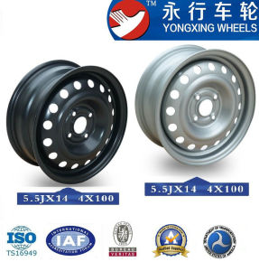 4 Hole Steel Material Car Wheel for 14 Inch (YX455007)