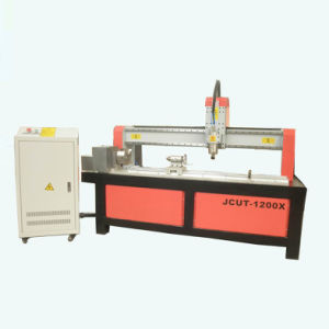 Rotary Axis CNC Router Machine for Round Materials--- (JCUT-1200X)