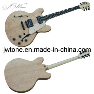 Hollow Body Double F Hole Quality Electric Guitar pictures & photos