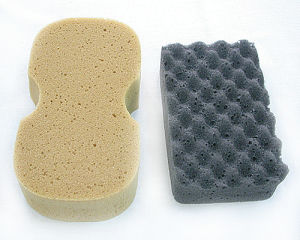 Car Wax Wave-Shaped Sponge Css-07 pictures & photos