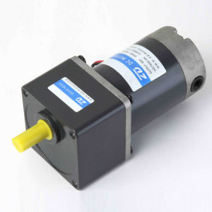 Zd 80mm 25 40W Small Electric DC Gear Motor pictures & photos
