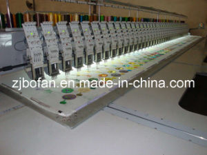 Multi Heads High Speed Flat Embroidery Machine pictures & photos