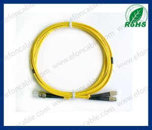 Fiber Optic Jumper Patch Cord Single Moldst-FC pictures & photos