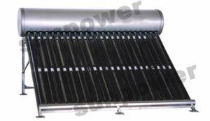 Non Pressure Solar Water Heater (SP-470-58/1800-30-C) pictures & photos