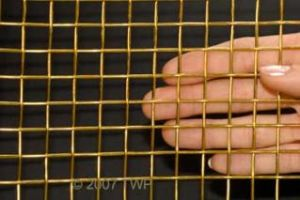Factory Supply High Quality Copper Crimped Wire Mesh pictures & photos