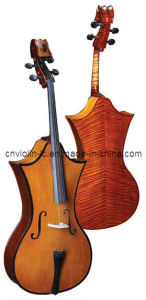 Antique Cello With Cutaway (LC-C004)