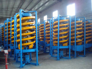 Mineral Spiral Chute, Spiral Plant for Iron Sand Separate pictures & photos