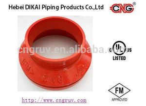FM /UL Approved Concentric Reducer Grooved Pipe Fittings Ductile Iron Pipe Reducing Fitting pictures & photos