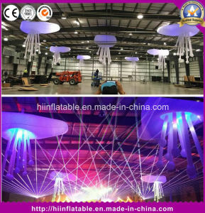 Fatanstic Decoration Stage Ceiling Decoration Inflatable Flowers/Hanging Inflatable Flower with LED for Party pictures & photos