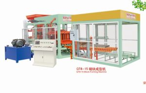 Fully Automatic Block Making Machine With High Productivity (QT8-15) pictures & photos