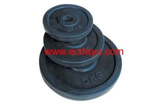 Olympic Rubber Coated Plate, Free Weights (DY-WP-06B)