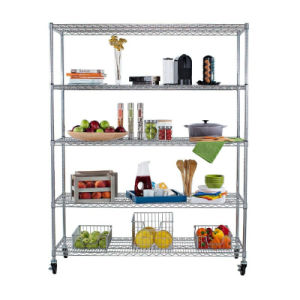 Heavy Duty Wire Shelf Units pictures & photos